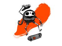 Skullboarder 01
