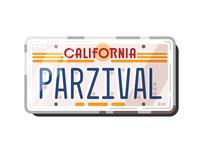 DeLorean license plate | RPO