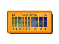 DeLorean 2015 license plate | BTTF2