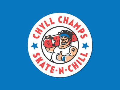 Chyll Champs logo