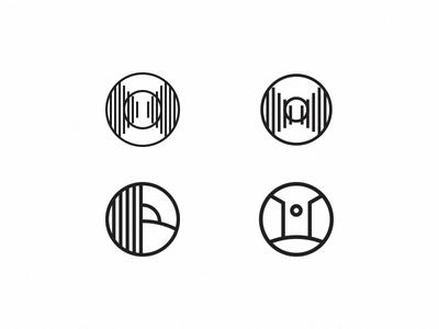 Logo options - What do we think? logo mark roundel education gate gateway