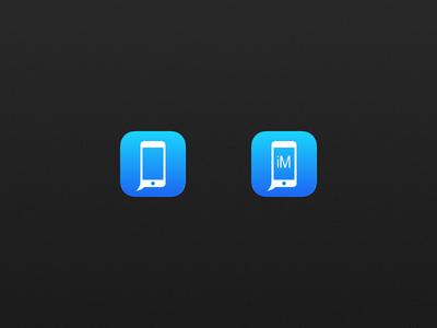 iMore no bubble imore icon app bjango rebound