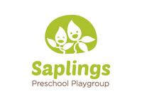 Saplings Logo - Colour version