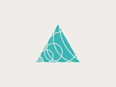 Revised logo logo branding triangle geometry