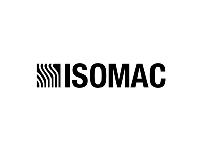Isomac Redo logo branding isomac rebrand rebound playoff helvetica nue condensed