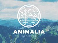 Animalia Clothing Co. Identity
