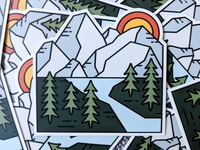 Mountain Sticker - Product