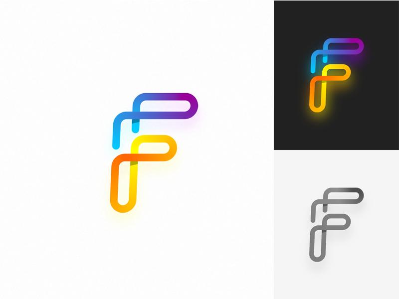 F Letter Logo Design. by Mehdi Sohrabi | Dribbble | Dribbble