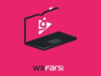 W3Farsi Logo Design