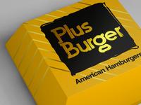 ➕ Plus Burger Logo