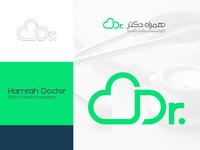 Hamrah Doctor Logo Design