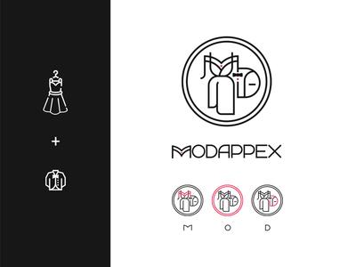 MODAPPEX Logo Design