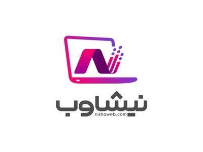 Nishaweb Logo Design.