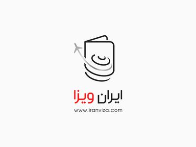 Iran Viza Logo Design