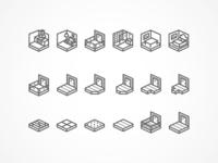 Room & Floor Type Icons