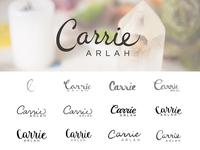 Logo for Carrie Arlah
