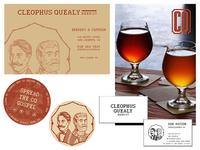Cleophus Quealy Beer Company Print Work