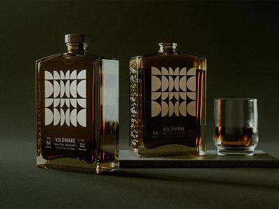 Vildmark — Sun Tea Whiskey illustration flask glass whiskey tea sun