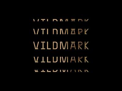 Vildmark Logotype tea whiskey sun dandelion trees flower geometric illustrations logo