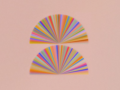 Wallpaper rays sun circle
