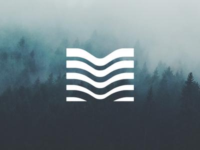 Mississippi Park Connection river stream ripples waves mpls logo water mississippi m