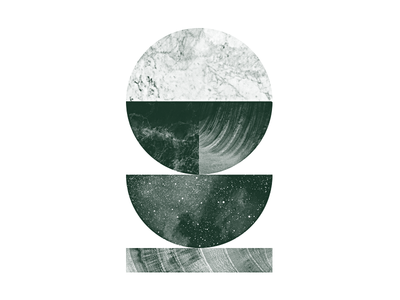 Layers textures waves marble stars wood circle halftone