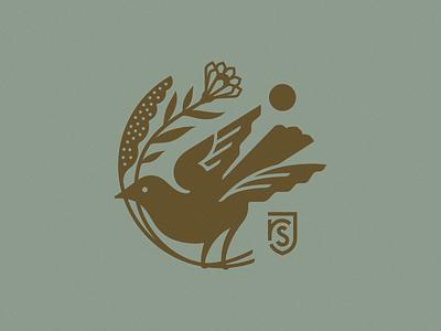 River St. Joe etc shield sun monogram flower bird