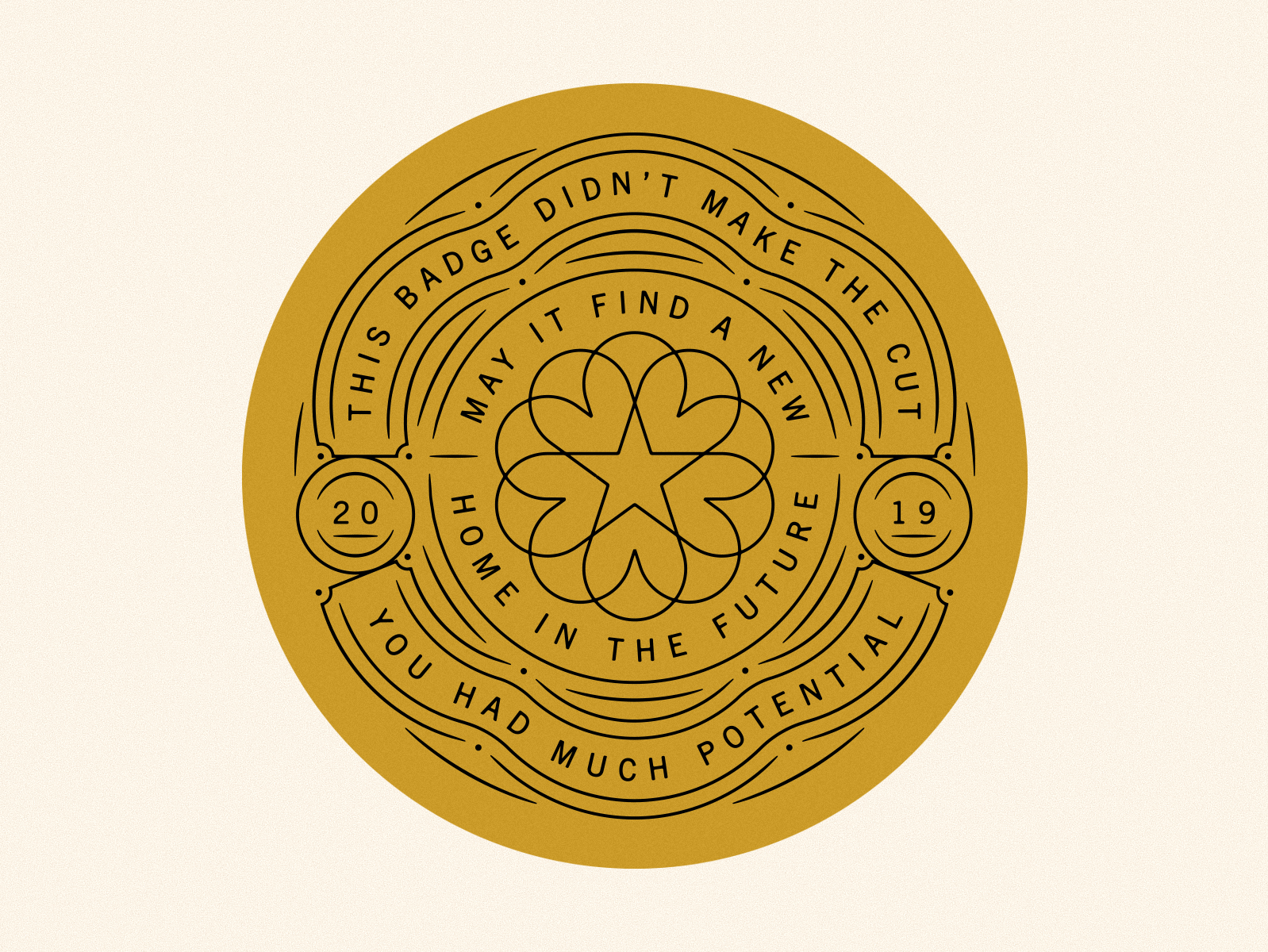 Whiskey Badge by Brent Schoepf on Dribbble