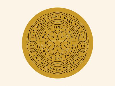 Whiskey Badge branding etc rip whiskey ribbon circle badge star cherry blossom