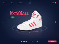 Adidas UI Practice