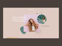 Daily UI 3 — Landing Page (Freebie)