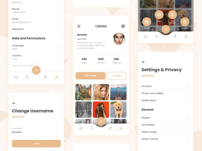 Profile & Settings