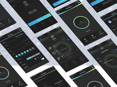 HomeWizard Climate App remote control smart fan mobile app design product design interface app ux design ui