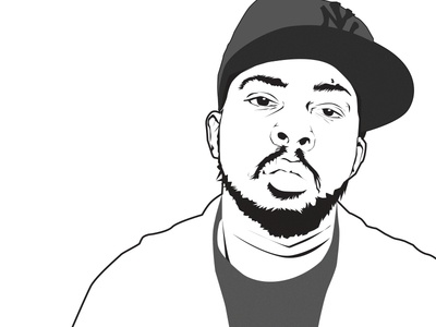 Phife Dawg (A Tribe Called Quest) illustration