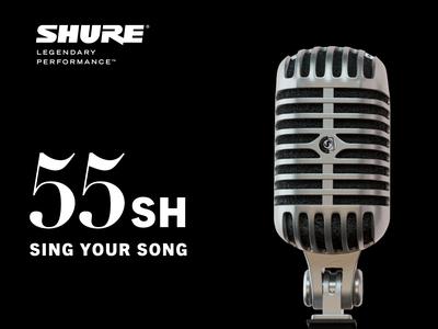 SHURE 55SH / 3D