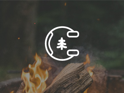 Camp Vibes Podcast Logo