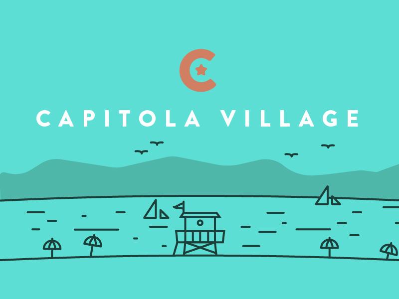 Capitola Village village beach bridge ocean star capitola