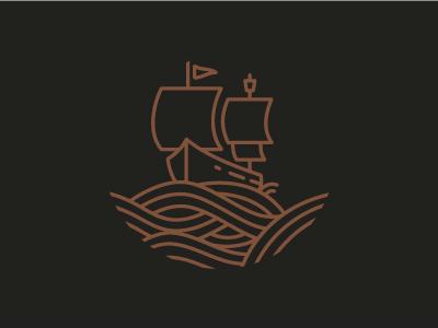 Food Start Up branding sailboat boat
