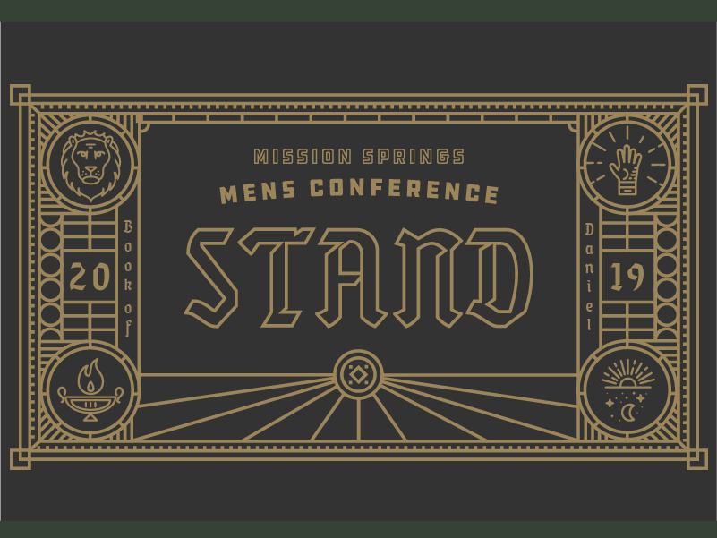 Stand Conference illustration branding
