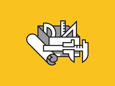 Icon - Tools icon web tools ux caliper blueprints ruler vector