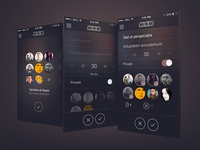 Rejected iOS Mockups 2