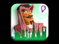 "Game - ""Desert Tycoon"" App Store Icon"