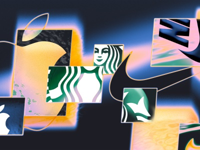 Variated Brands futureform photoshop brands brand design futurism future fluid digital art