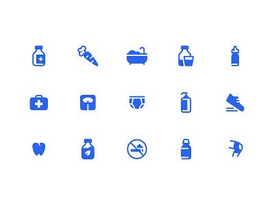 OTC Icons identity iconography icon set icons vector