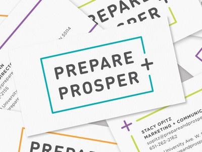 Prepare + Prosper