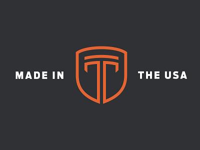 Oldie mark monogram armor logomark branding logo