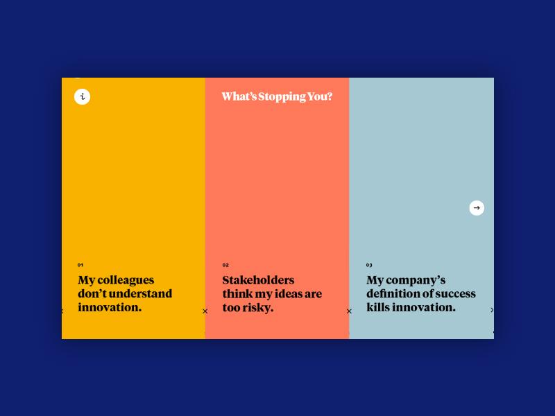 Innovation Site flat simple ui website web digital