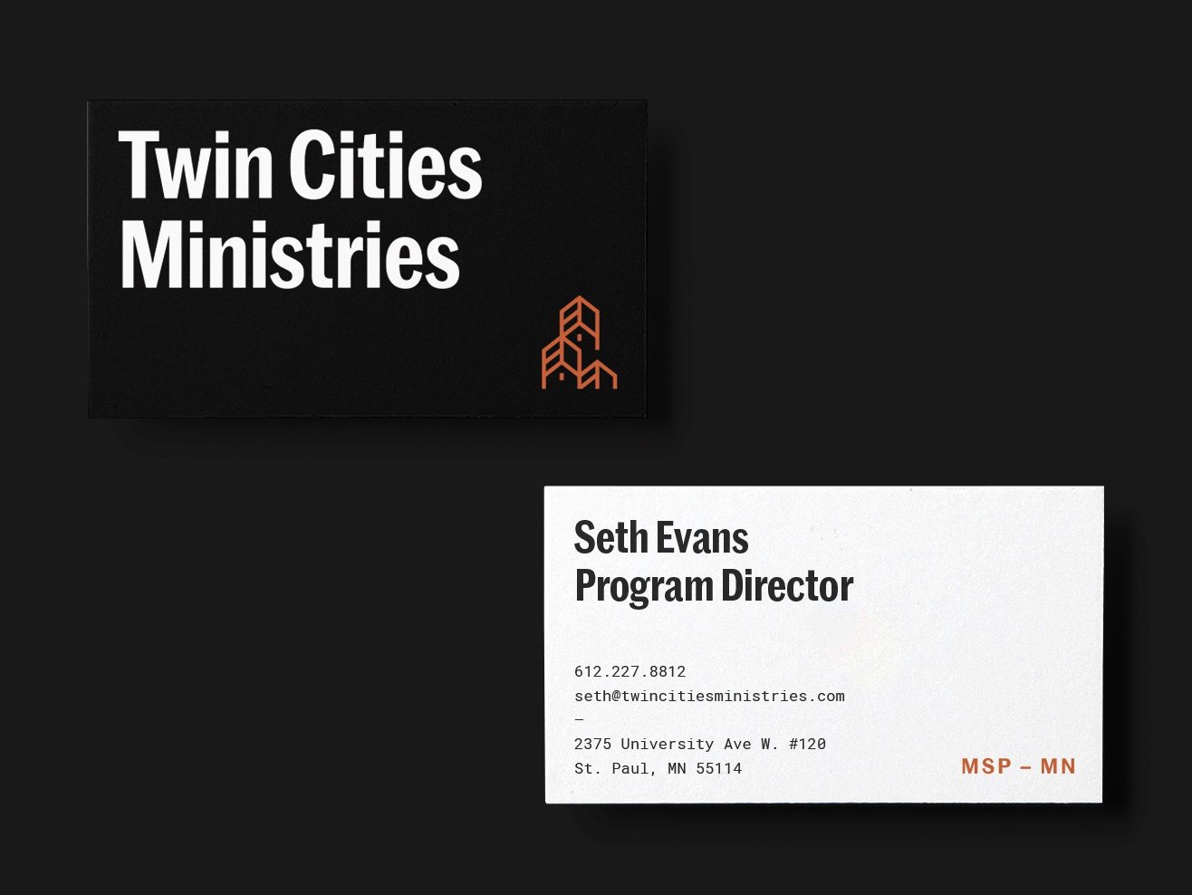 Business Cards business card stationery print mark identity branding typography