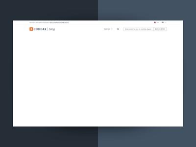 Blog Design Direction