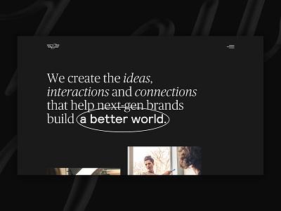 Zeus Jones site exploration web design website ui identity typography web digital